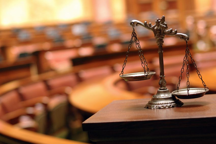 balances in court room