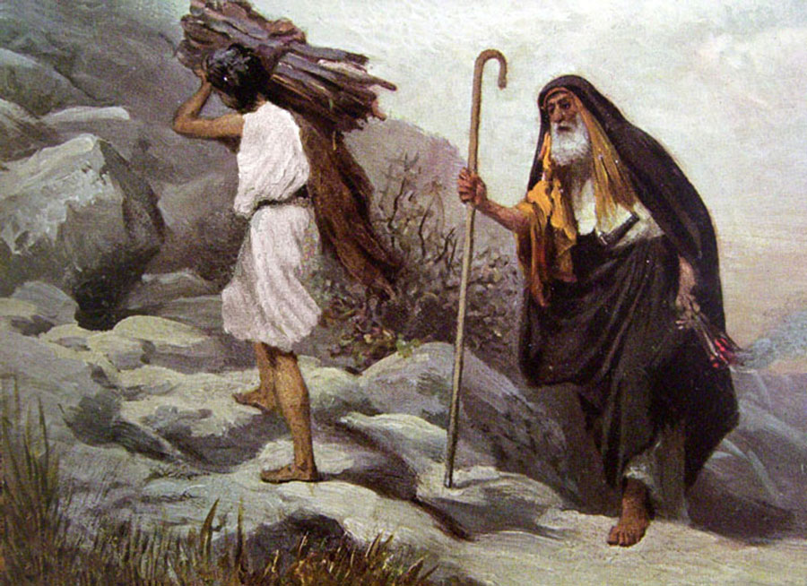abraham and jacob on the mountain