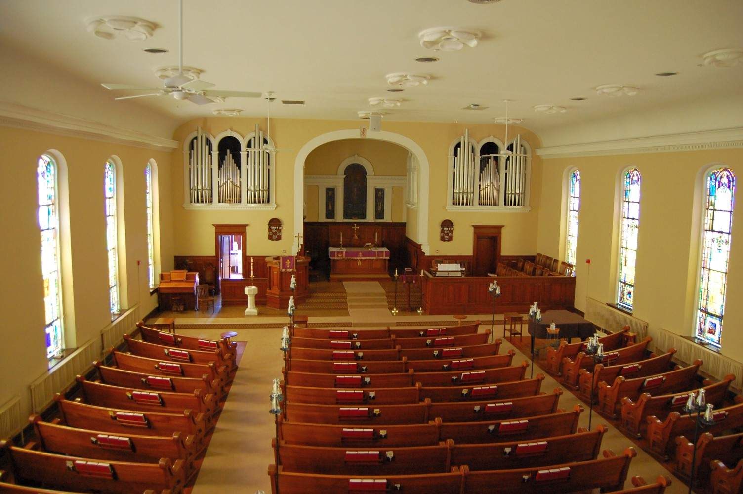 inside lutheran church